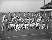 Interprovincial Railway Cup Hurling Final, .Leinster v Munster, .Munster Team..17.03.1954, 03.17.1954, 17th March 1954,
