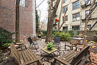 Garden at 249 East 7th Street