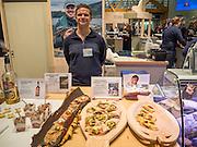 Lasse Hestetun, Akevittruten, Norway, Norwegen, Berlin. Grüne Woche, Norway on the International Food Festival Green Week.