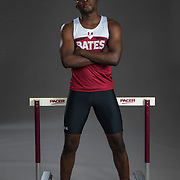 Beaufils Kimpolo-Pene '20<br /> The Bates men and women's track and field team shot on January 12, 2018.