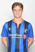 Fotball , Eliteserien 2019 , portrett , portretter , Stabæk<br /> <br /> Peder Vogt