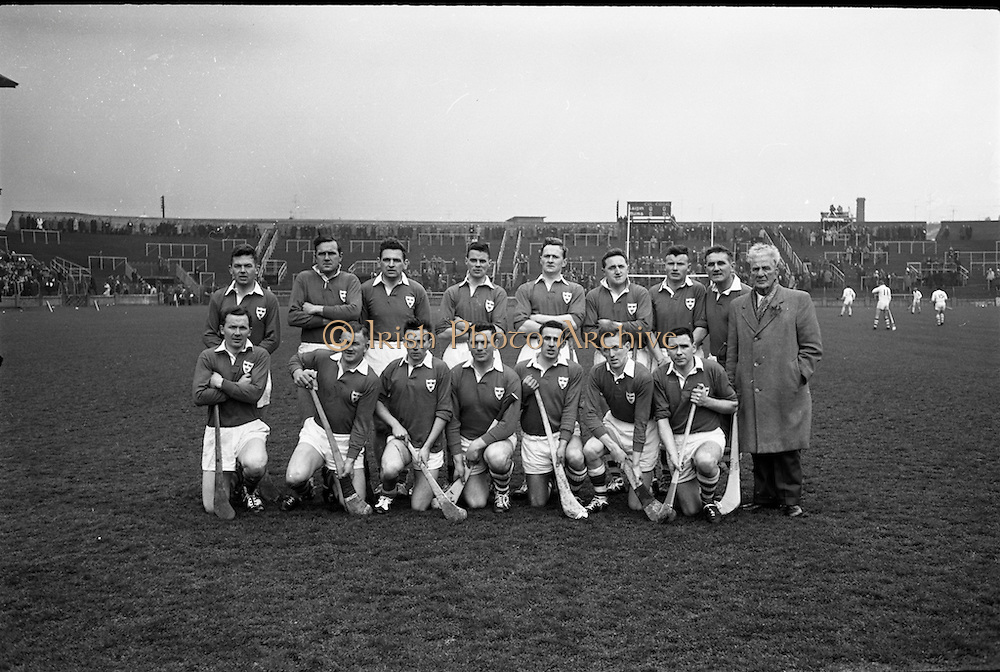 Railway Cup Final, Munster v Leinster, at Croke Park..17.03.1964, 03.17.1964, 17th March 1964, referee S O Foslu, Leinster 3-07, Munster 2-09,.Munster Team.17.03.1964