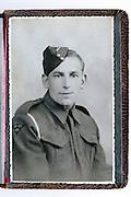 British soldier portrait