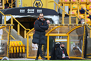 Nuno Espirito Santo of Wolverhampton Wanderers during the Premier League match between Wolverhampton Wanderers and West Bromwich Albion at Molineux, Wolverhampton, England on 16 January 2021.