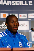 FOOTBALL - MISCS - FRENCH CHAMPIONSHIP 2010/2011 - OLYMPIQUE MARSEILLE - 16/12/2010 - PHOTO PHILIPPE LAURENSON / DPPI - PRESENTATION ROD FANNI (OM NEW PLAYER)