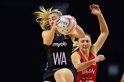 Silver Ferns' Witney Souness in action during the Vitality Netball International Series match at the Echo Arena, Liverpool.