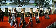 Courtney Love arriving, Golden Globes. Beverley Hilton Hotel. Los Angeles. 23/1/2000© Copyright Photograph by Dafydd Jones<br />66 Stockwell Park Rd. London SW9 0DA<br />Tel 0171 733 0108. www.dafjones.com