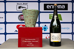 Situla, trophy during the 5th Stage of 27th Tour of Slovenia 2021 cycling race between Ljubljana and Novo mesto (175,3 km), on June 13, 2021 in Slovenia. Photo by Vid Ponikvar / Sportida