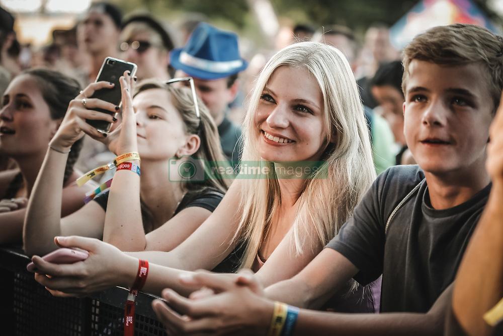 July 5, 2018 - Hradec Kralove, Czech Republic - Audience attended the Rock For People Festival. (Credit Image: © Krzysztof Zatycki/Pacific Press via ZUMA Wire)