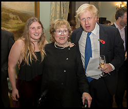 October 22, 2014 - London, England, United Kingdom - File Pictures of Boris Johnson's daughter Lara Johnson on the day her father Boris  announced he will be separating from his wife Marina Wheeler  Lara Lettice Johnson, Mayor of London Boris Johnson (R) and mother Charlotte Johnson Wahl at Boris's book launch - The Churchill Factor at The English Speaking Union, Dartmouth House, London. (Credit Image: © Andrew Parsons/i-Images via ZUMA Press)
