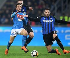 Inter Milan v Napoli - 11 March 2018