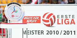 24.05.2011, Hohe Warte, Wien, AUT, 2. FBL, First Vienna FC 1894 vs Trenkwalder Admira, im Bild Meisterteller der Heute fuer Morgen Erste Liga,  EXPA Pictures © 2011, PhotoCredit: EXPA/ T. Haumer