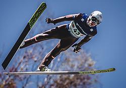 30.09.2018, Energie AG Skisprung Arena, Hinzenbach, AUT, FIS Ski Sprung, Sommer Grand Prix, Hinzenbach, im Bild Daniel Huber (AUT) // Daniel Huber of Austria during FIS Ski Jumping Summer Grand Prix at the Energie AG Skisprung Arena, Hinzenbach, Austria on 2018/09/30. EXPA Pictures © 2018, PhotoCredit: EXPA/ Stefanie Oberhauser