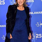 Penny Smith attends BBC1's National Lottery Awards 2019 at BBC Television Centre, 101 Wood Lane, on 15 October 2019, London, UK.