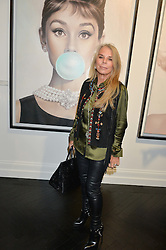 LADY GREEN at a party to celebrate the launch of the Maddox Gallery at 9 Maddox Street, London on 3rd December 2015.
