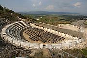 Israel, Galilee, Zippori National Park A mishnaic-period city with an abundance of mosaics. The amphitheatre
