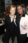 June 12, 2017-New York, New York-United States: (L-R) Louise Guido, Global Thought Leader and Lillian Chege, CareerBox attend ' Cocktails & Conversation with Ambassador Zindzi Mandela 'highlighting the advocacy for the equity and rights of girls and women held at the Lincoln Ristorante at Lincoln Center on June 12, 2017 in New York City. Powered by CareerBox Soweto, the organization's mission is fulfill the hopes and dreams of youth of South Africa. (Photo by Terrence Jennings/terrencejennings.com)