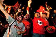 Giants Fans Celebrate World Series Win