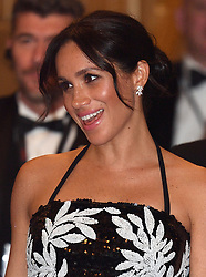 The Duke and Duchess of Sussex attend the Royal Variety Performance at The London Palladium, London, UK, on the 19th November 2018. 19 Nov 2018 Pictured: Meghan Markle, Duchess of Sussex. Photo credit: James Whatling / MEGA TheMegaAgency.com +1 888 505 6342