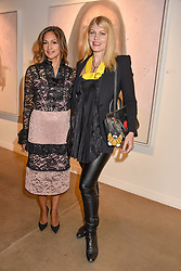 12 December 2019 - Isabella de Conti and Meredith Ostrom at a private view of Lethe by Henrik Uldalen at JD Malat Gallery. 30 Davies Street, London.<br /> <br /> Photo by Dominic O'Neill/Desmond O'Neill Features Ltd.  +44(0)1306 731608  www.donfeatures.com
