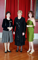 08 November 2014. New Orleans, Louisiana. <br />  2014 International Irish Famine Commemoration, Gallier Hall.<br /> Heather Humphreys, Irish Fine Gael politician and the Minister for Arts, Heritage and the Gaeltacht meets with Gala attendees. <br /> Photo; Charlie Varley/varleypix.com