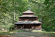 Cerkiew z Grąziowej. Park Etnograficzny w Sanoku