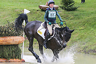 Priorspark Opposition Free ridden by Eliza Stoddart in the Equi-Trek CCI-L4* Cross Country during the Bramham International Horse Trials 2019 at Bramham Park, Bramham, United Kingdom on 8 June 2019.