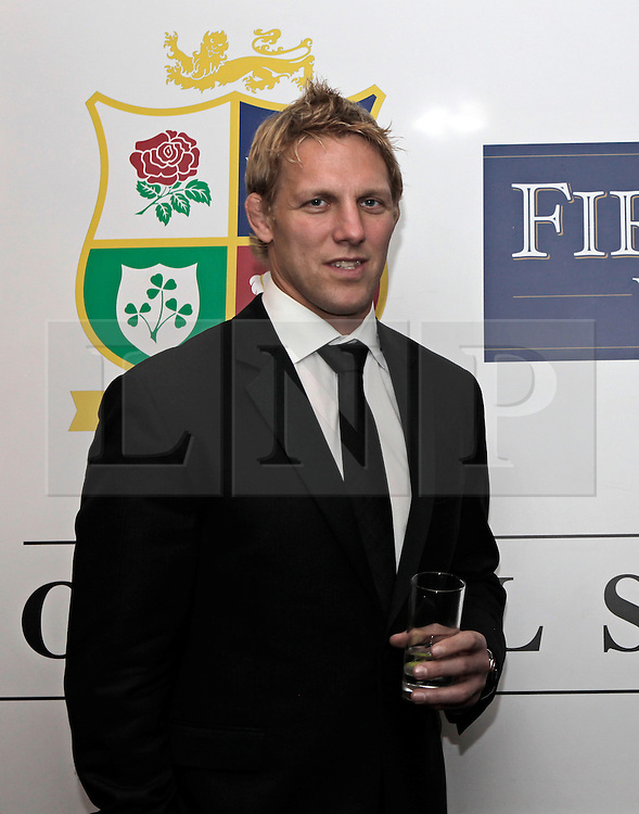 © Licensed to London News Pictures. 31/10/2012. London, U.K. .Lewis Moody joined the star studded line-up for the Ugo Monye Halloween Ball supported by FIRSTCAPE WINE at Grovesnor House Hotel, Park Lane, London this evening (31/10/2012). An auction was held to raise money for Ugo Monye's selected charities: Help a capital child and The Rugby players benevolent fund..Photo credit : Rich Bowen/LNP