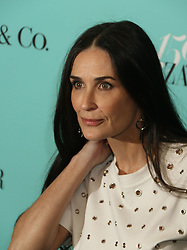 April 19, 2017 - New York, New York, U.S. - Actress DEMI MOORE attends the Tiffany & Co. and Harper's Bazaar 150th Anniversary Event held at the Rainbow Room. (Credit Image: © Nancy Kaszerman via ZUMA Wire)