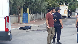 """September 6, 2017 - Mersin, Turkey - September 06, 2017 - Mersin, Turkey - Police shot and killed a would-be suicide bomber on Sept. 6, preparing to attack a police station near the regional National Intelligence Organization (MÄ°T) base in the southern province of Mersin, Turkey. Mersin Chief Public Prosecutor Mustafa Ercan said a would-be suicide bomber was shot during an armed clash with security forces at the 50. Yıl Police Station in the YeniÅŸehir district. He added that authorities were elaborating on the assumption that he might have been a member of the Islamic State of Iraq and the Levant (ISIL). """"A suicide vest was also seized on the militant,"""" he said. In a separate incident, the Mersin Governor's Office said in a statement that a male suspect had approached 50 meters to the police station, refusing to obey stop warnings. He was later shot after putting his hand on a cable dangling from his shoulder, it said. (Credit Image: © Dha - Depo Photos/Depo Photos via ZUMA Wire)"""