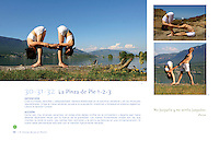 El Arte de Yoga en Pareja - LIBRO / BOOK. 306 Diferent Partner Yoga Asanas for all levels. Designed by Wari Om