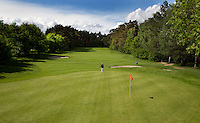HERKENBOSCH-  Hole 16, rood 7. , Golfbaan Herkenbosch bij Roermond. FOTO KOEN SUYK