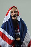 ATHLETICS - IAAF WORLD CHAMPIONSHIPS 2011 - DAEGU (KOR) - DAY 6 - 01/09/2011 - PHOTO : STEPHANE KEMPINAIRE / KMSP / DPPI - <br /> 1500 M - WOMEN - FINALE - GOLD MEDAL - HANNAH ENGLAND (GBR)