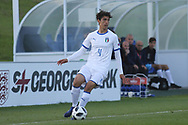 Giuseppe Leone of Italy (4) during the UEFA European Under 17 Championship 2018 match between Israel and Italy at St George's Park National Football Centre, Burton-Upon-Trent, United Kingdom on 10 May 2018. Picture by Mick Haynes.