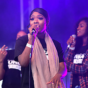 Urban Flames performs at the EFG London Jazz Festival SummerStage at the LONDON Royal Albert Dock, 0n 31 August 2019, London, UK.