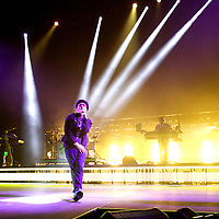ST. PAUL, MN - FEBRUARY 14:  TobyMac performs at the Xcel Energy Center on February 14, 2014 in St. Paul, Minnesota. (Photo by Adam Bettcher/Getty Images) *** Local Caption *** TobyMac