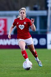Poppy Pattinson of Bristol City - Mandatory by-line: Ryan Hiscott/JMP - 08/12/2019 - FOOTBALL - Stoke Gifford Stadium - Bristol, England - Bristol City Women v Birmingham City Women - Barclays FA Women's Super League