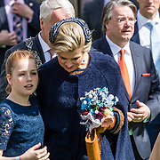 NLD/Tilburg/20170427- Koningsdag 2017, Maxima en partner Alexia,