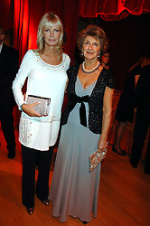 Left to right, PANDORA DELEVINGNE and her mother JANE STEVENS at a dinner held at the Natural History Museum to celebrate the re-opening of their store at 175-177 New Bond Street, London on 17th October 2007.<br /><br />NON EXCLUSIVE - WORLD RIGHTS