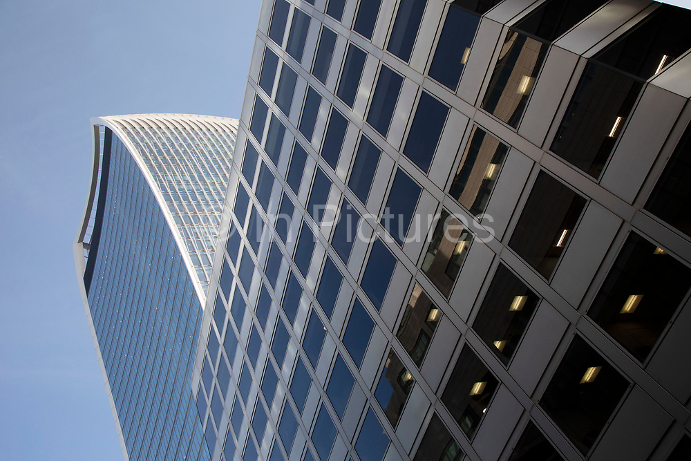 20 Fenchurch Street skyscraper in the City of London, United Kingdom. 20 Fenchurch Street is a commercial skyscraper in London that takes its name from its address on Fenchurch Street, in the historic City of London financial district. It has been nicknamed The Walkie-Talkie because of its distinctive shape.
