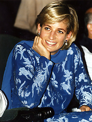 DIANA, PRINCESS OF WALES, DURING HER VISIT TO LAHORE, PAKISTAN.