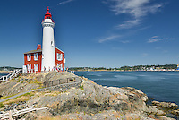 Fisgard Lighthouse, Fort Rodd Hill, Victoria British Columbia