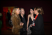 ANASTASIA WEBSTER; NICK RHODES;  NEFER SUVIO, TIPHAINE DE LUSSIS , Allen Jones private view. Royal Academy,  London. 11 November  2014.