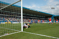 Photo: Tony Oudot.<br /> Gillingham v Charlton Athletic. Pre Season Friendly. 28/07/2007.<br /> Jerome Thomas of Charlton scores from the penalty spot during a comfortable win for Charlton