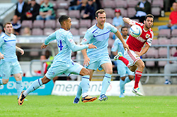 Bristol City's Sam Baldock gives chase to a loose ball  - Photo mandatory by-line: Dougie Allward/JMP - Tel: Mobile: 07966 386802 11/08/2013 - SPORT - FOOTBALL - Sixfields Stadium - Sixfields Stadium -  Coventry V Bristol City - Sky Bet League One