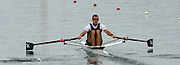 2005 FISA Rowing World Cup Munich, GERMANY. 18.06.2005;.NZL M1X Mahe Drysdale..Photo  Peter Spurrier. .email images@intersport-images[Mandatory Credit Peter Spurrier/ Intersport Images] Rowing Course, Olympic Regatta Rowing Course, Munich, GERMANY