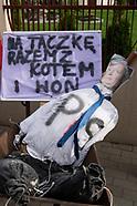 Protest rolników na Podlasiu