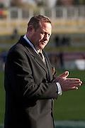 Waikato Coach Chris Gibbes before kick off of their Round 9 ITM cup Rugby match, Waikato v Otago, at Waikato Stadium, Hamilton, New Zealand, Sunday 13 August  2011. Photo: Dion Mellow/photosport.co.nz