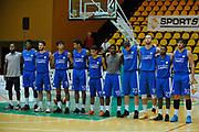 DESCRIZIONE : Jesolo Lega A 2015-2016 Terzo Torneo Citta di Jesolo Umana Reyer Venezia Acqua Vitasnella Cantu<br /> GIOCATORE : team Cantu<br /> CATEGORIA :  team<br /> SQUADRA : Umana Reyer Venezia Acqua Vitasnella Cantu<br /> EVENTO : Campionato Lega A 2015-2016<br /> GARA : Umana Reyer Venezia Acqua Vitasnella Cantu<br /> DATA : 12/09/2015<br /> SPORT : Pallacanestro<br /> AUTORE : Agenzia Ciamillo-Castoria/M.Gregolin<br /> Galleria : Lega Basket A 2011-2012<br /> Fotonotizia :  Jesolo Lega A 2015-2016 Terzo Torneo Citta di Jesolo Umana Reyer Venezia Acqua Vitasnella Cantu<br /> Predefinita :