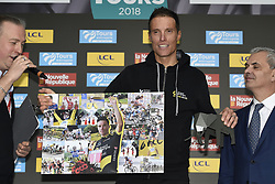 October 7, 2018 - Tours, France - TOURS, FRANCE - OCTOBER 7 : CHAVANEL Sylvain (FRA)  of Direct Energie during the 112th edition of the Paris - Tours Elite cycling race with start in Chartres and finish in Tours on October 07, 2018 in Tours, France, 7/10/2018 (Credit Image: © Panoramic via ZUMA Press)